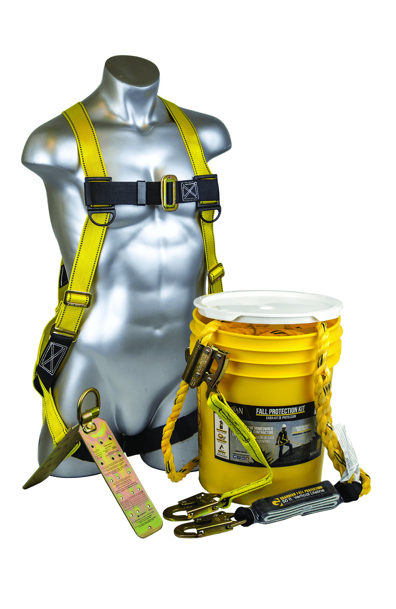 00815 - Bucket of Safe-Tie w/ Temper Anchor-Bucket of Safe-Tie w/ Temper Anchor-Size: S-L, Bucket of Safe-Tie----UOM: 1/EA