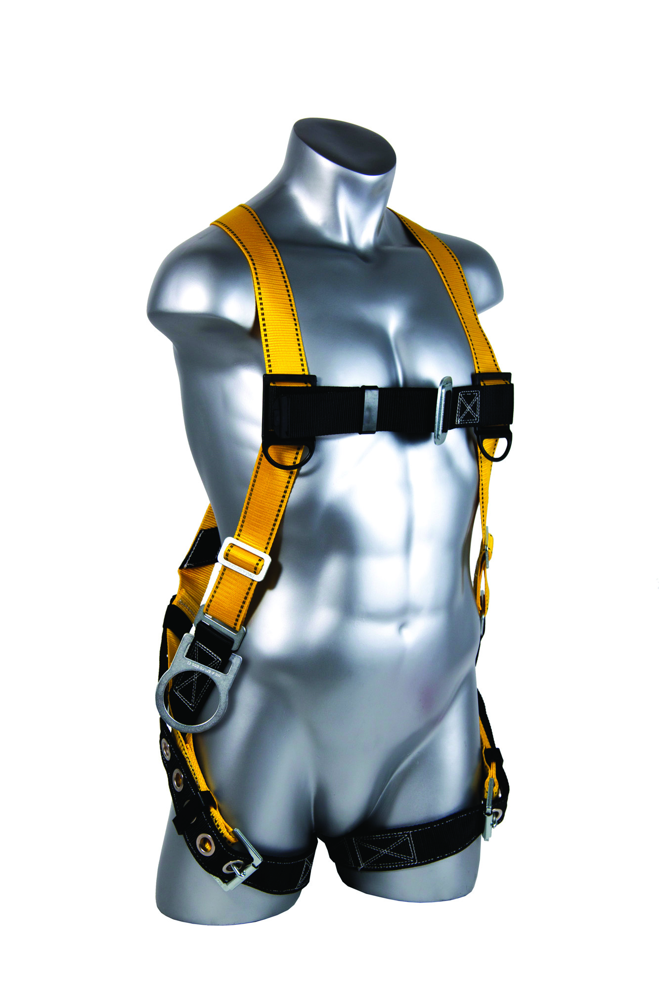 01705 - Velocity Full-Body Harnesses-Velocity Full-Body Harnesses-Size: S-L, Pass-Through Chest Buckles, Leg Tongue Buckles, Side D-rings----UOM: 1/EA