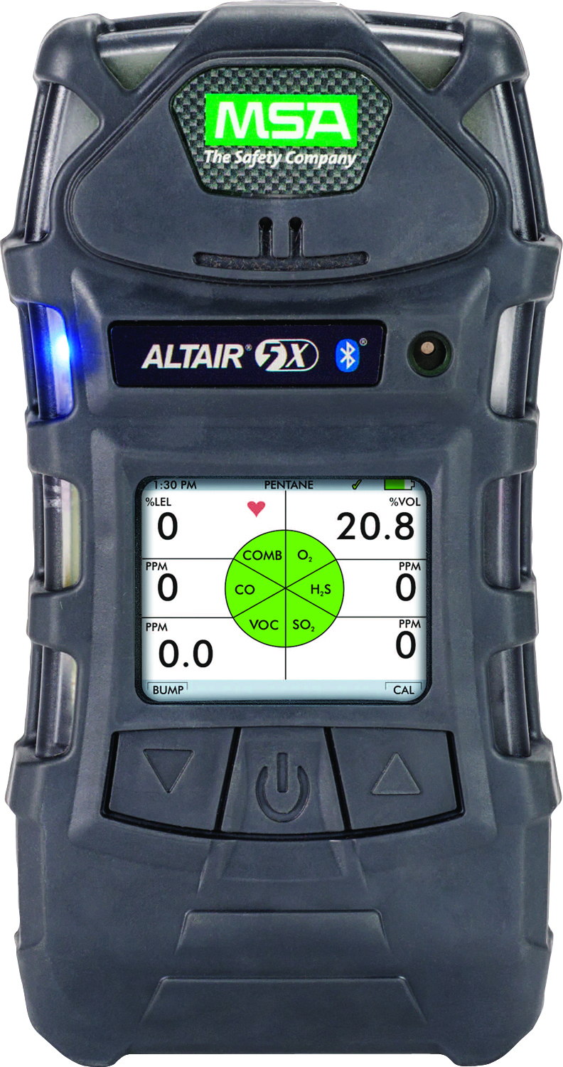 10116928 - ALTAIR 5X Multigas Detector-Color Display, 10-ft. Sampling Line, 1-ft. Probe: (LEL, O2, CO, H2S)-----UOM: 1/EA