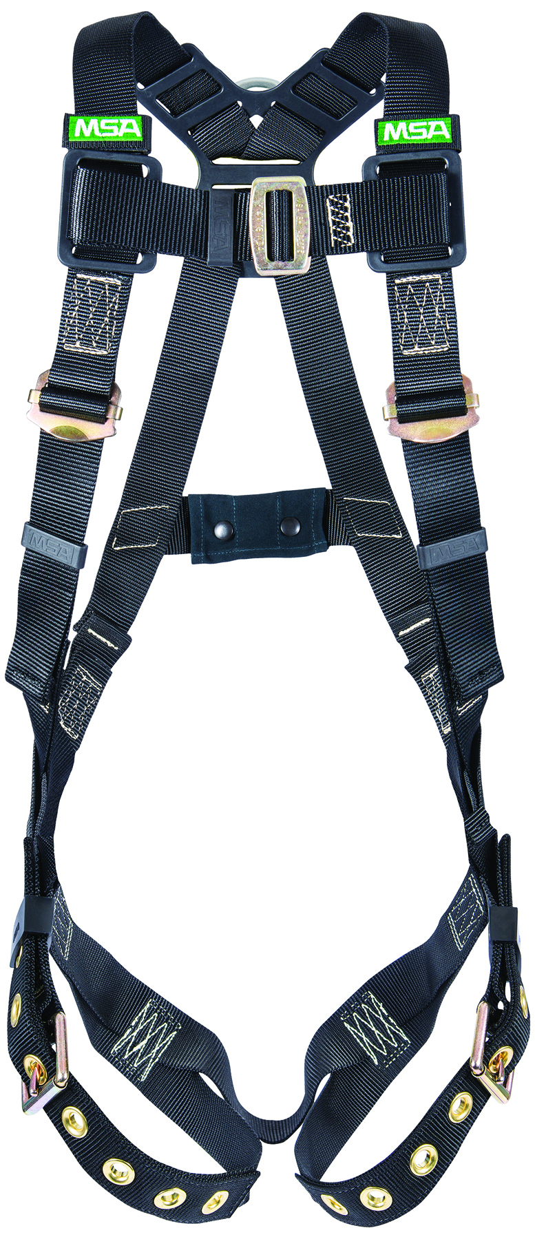 10152637 - Workman® Arc Flash Harnesses-Arc Flash Harnesses-Standard Size, with BACK STEEL D-Ring and Tongue Buckle Leg Straps----UOM: 1/EA