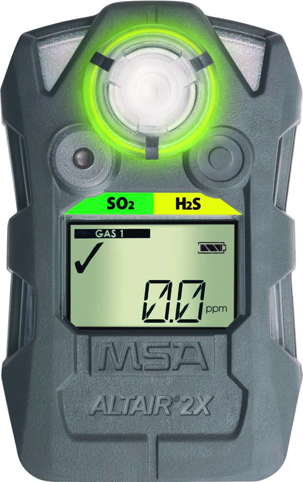 10153984 - ALTAIR® 2X Gas Detector-2XP with Xcell Pulse Technology: H2S-Pulse (10, 15) -Charcoal----UOM: 1/EA