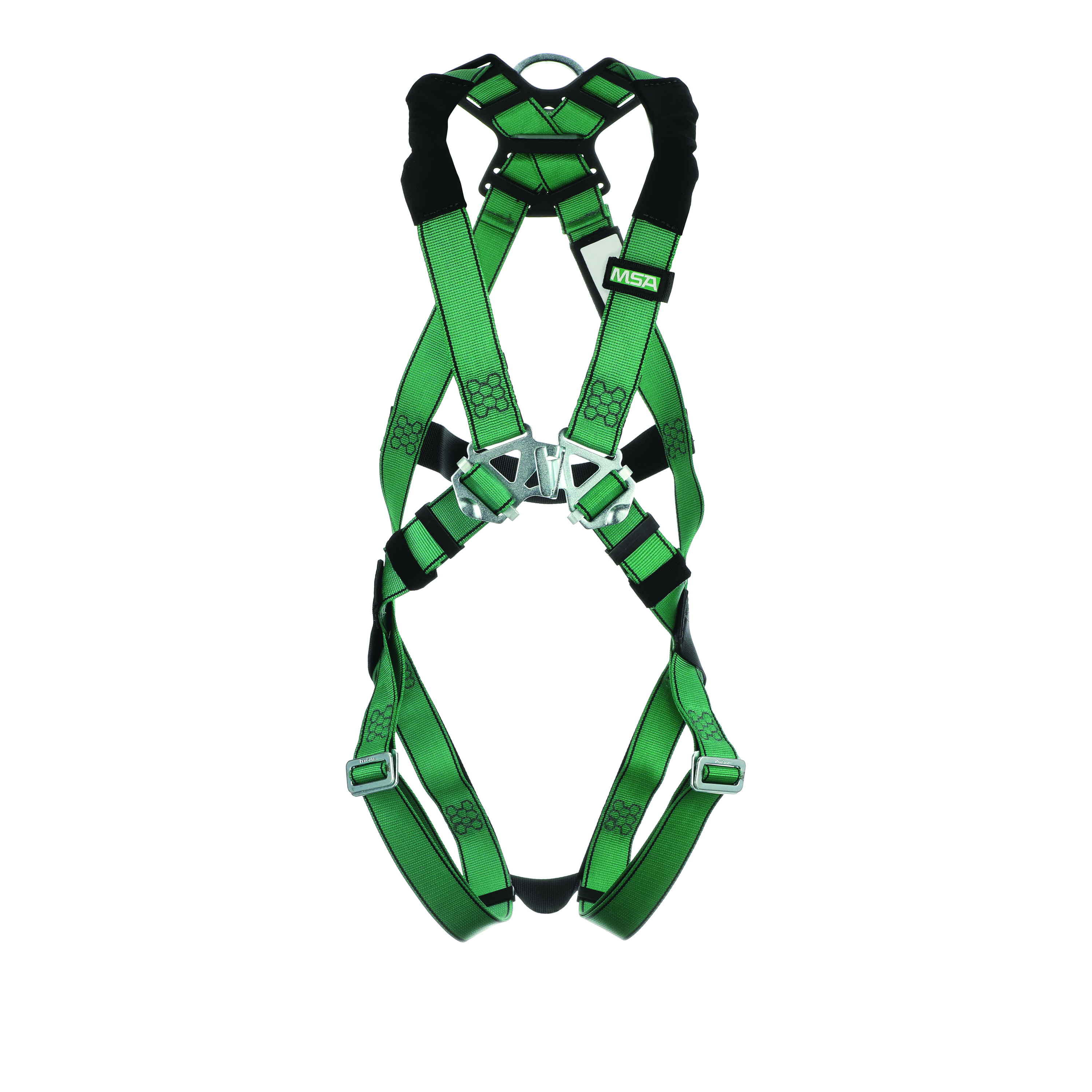 10197160 - V-FORM™ Safety Harness-V-FORM™ Safety Harness-Extra Large Size, Back D-Ring, Tongue Buckle Leg Straps ----UOM: 1/EA