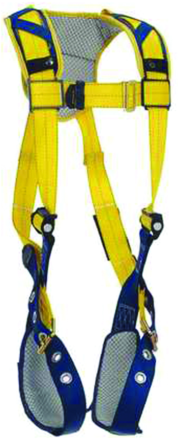 1100747 - Delta™ Comfort Vest Style Harnesses-Comfort Vest Style Harnesses-Yellow, Size Large----UOM: 1/EA