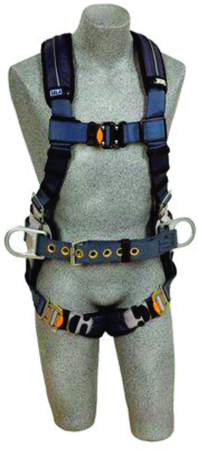 1110152 - ExoFit™ XP Construction Style Harnesses-Construction Style Harnesses, side D-rings-Blue, Size Large----UOM: 1/EA