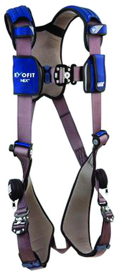 1113001 - ExoFit NEX™ Vest Style Harnesses-Vest Style Harnesses-Gray, Size Small----UOM: 1/EA