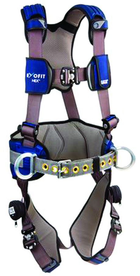 1113127 - ExoFit NEX™ Construction Style Harnesses-Construction Style Harnesses-Gray, Size Large----UOM: 1/EA