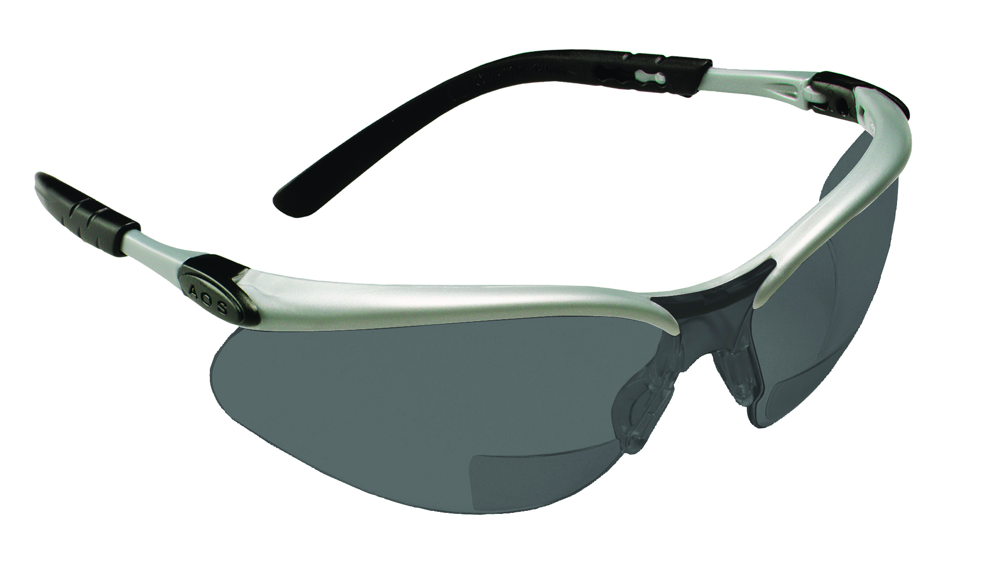 11379-00000-20 - 3M™ BX™ Readers Safety Eyewear-Gray +2.5 Diopter Lens, Silver/Black Frame-----UOM: 1/EA