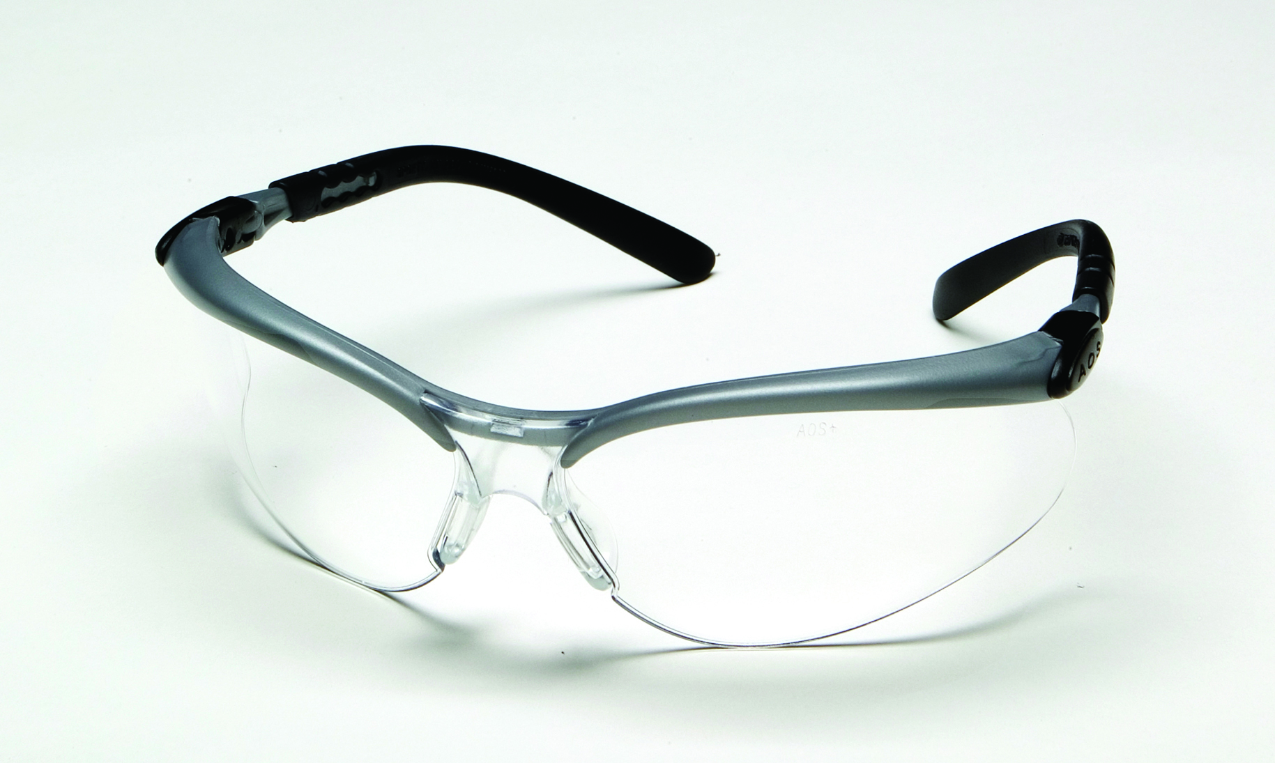 11380-00000-20 - 3M™ BX™ Safety Eyewear-Silver/Black Frame, Clear Lens-----UOM: 1/EA