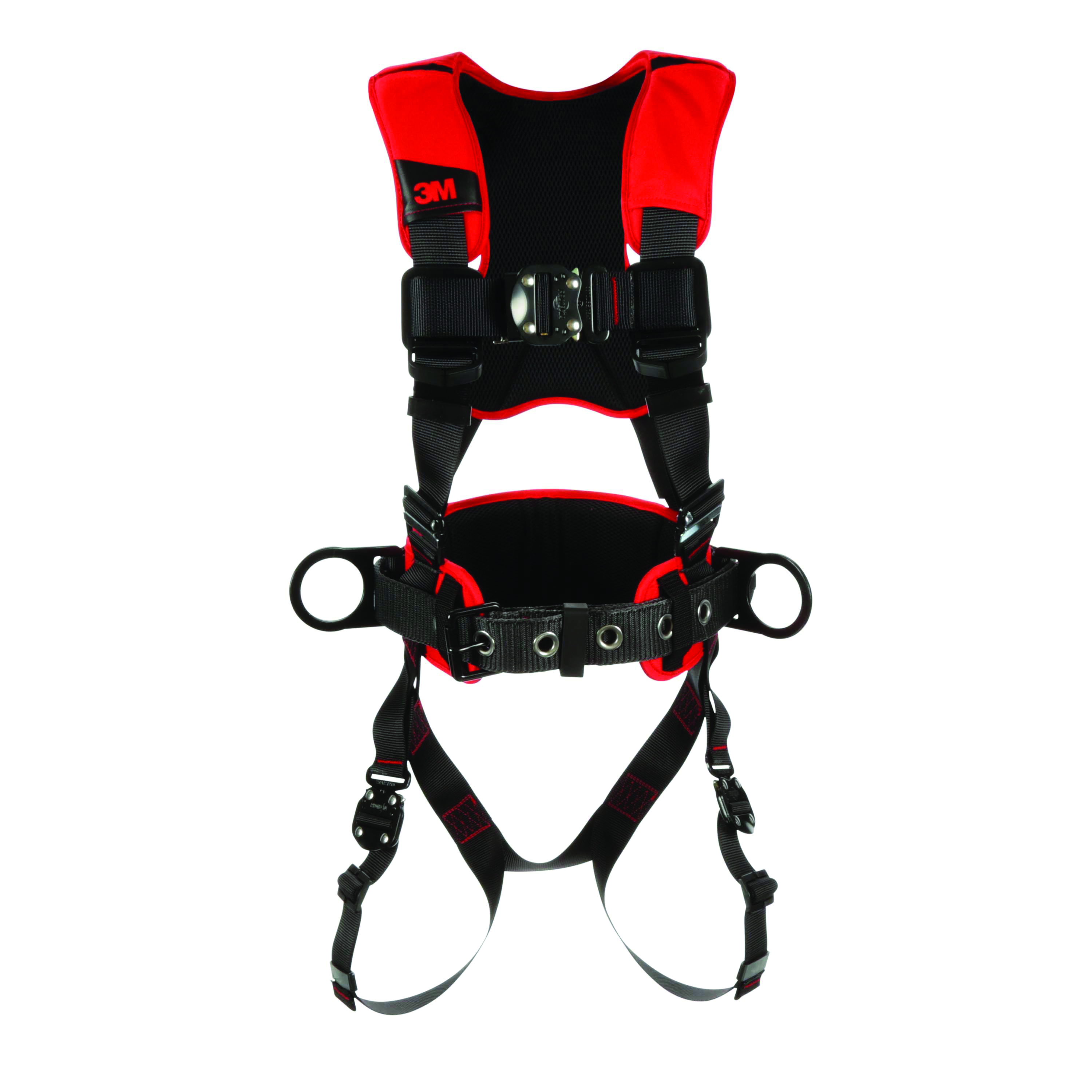 1161310 - PRO Construction Style Harnesses-Protecta® Construction Style Positioning Harness-Red and Black, Size X-Large----UOM: 1/EA
