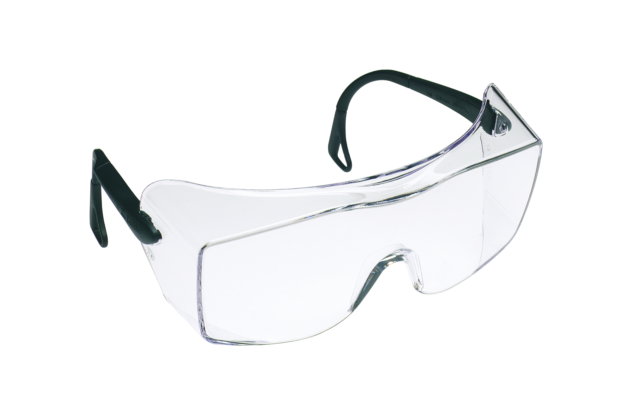 12159-00000-20 - 3M™ OX™ Safety Eyewear-Clear Lens, Black Temples-----UOM: 1/EA