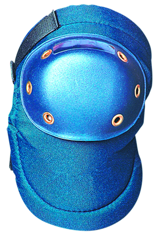 125 - Value Contoured Hard Knee Cap Pads-Blue-----UOM: 1/PR
