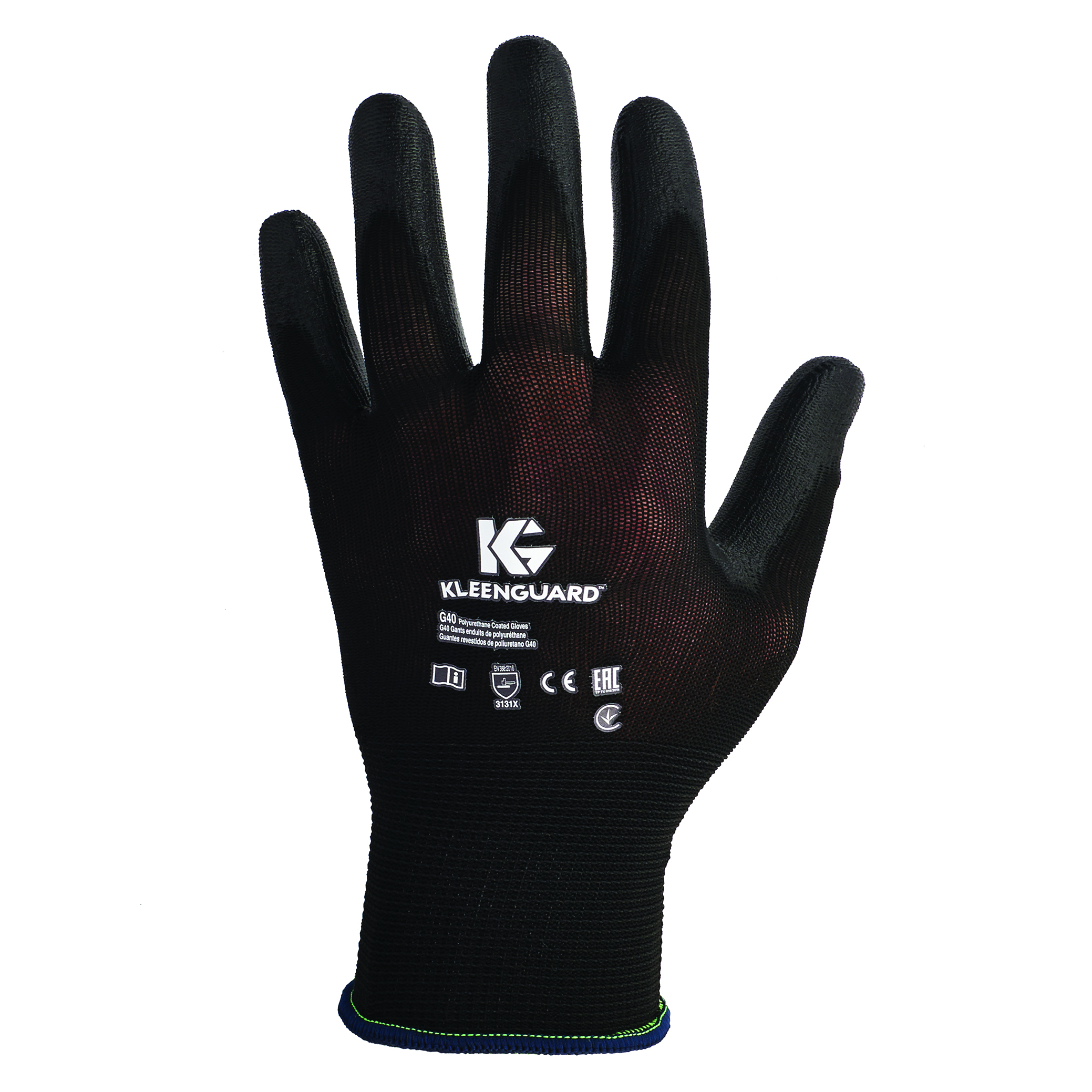 13838 - Kleenguard® G40 Nitrile Coated Gloves-General Purpose Gloves-Kleenguard* G40 Polyurethane Coated Gloves-Size 8/Medium---UOM: 12/PK