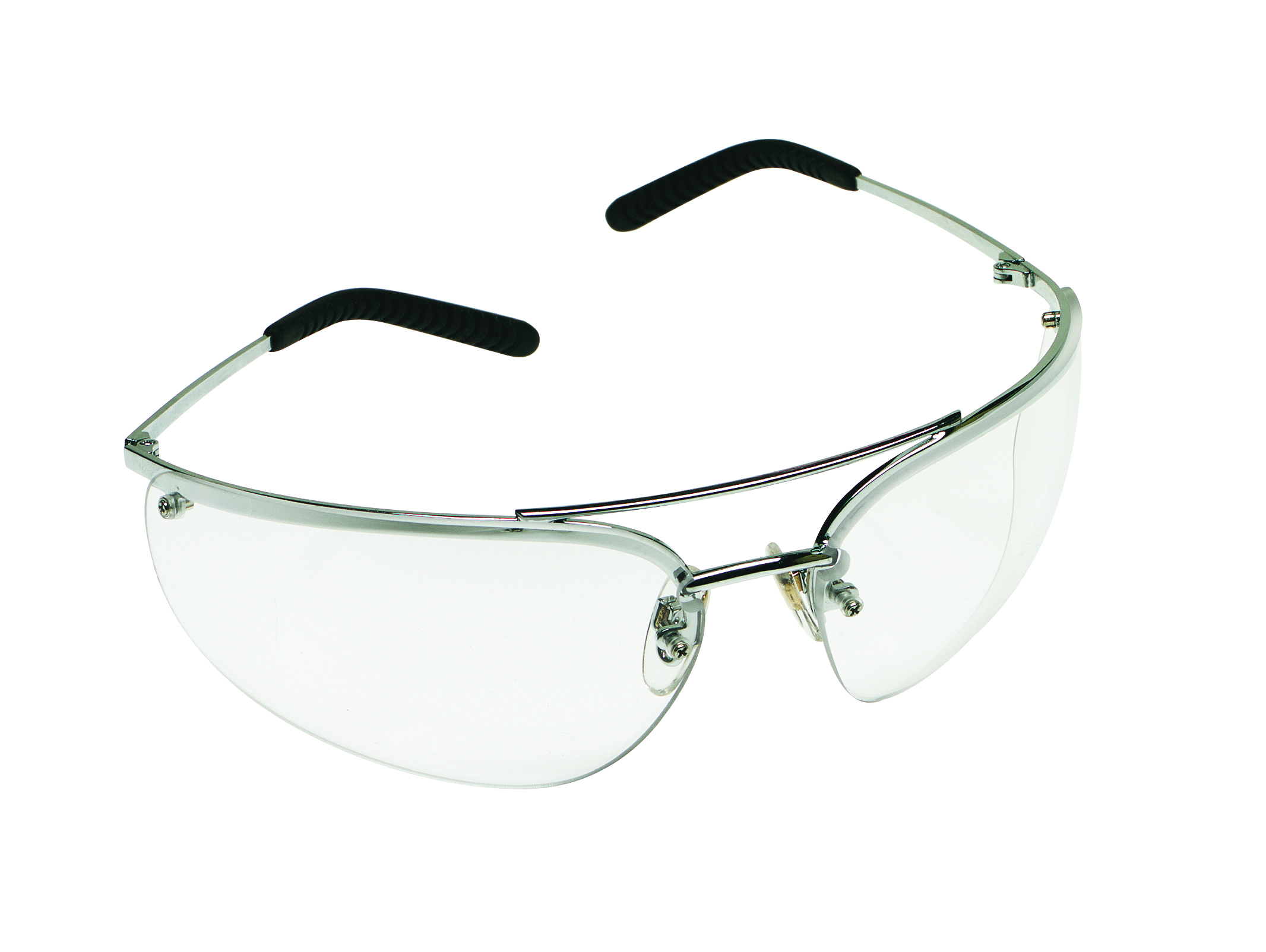 15170-10000-20 - 3M™ Metaliks™ and Metaliks™ Sport Safety Eyewear-Clear Lens, Polished Metal Frame-----UOM: 1/EA
