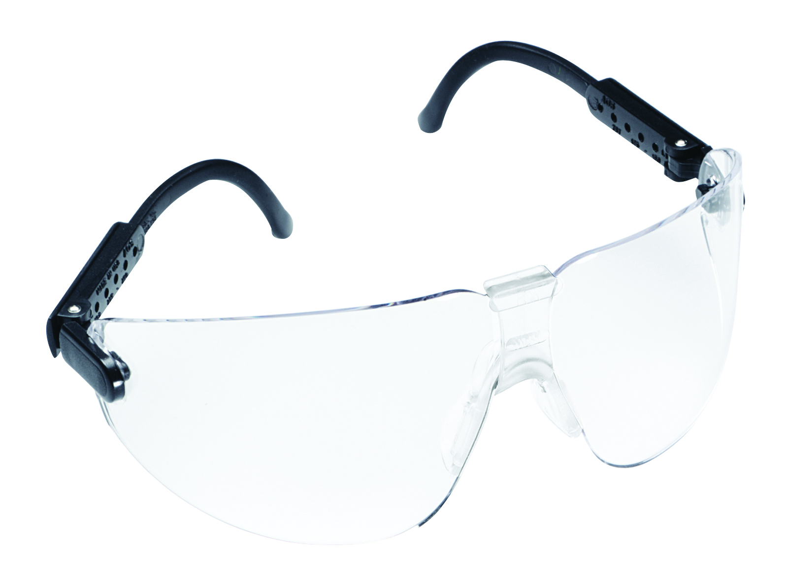 15200-00000-20 - 3M™ Lexa™ Safety Eyewear-Black Temple, Clear Lens, Size Medium -----UOM: 1/EA
