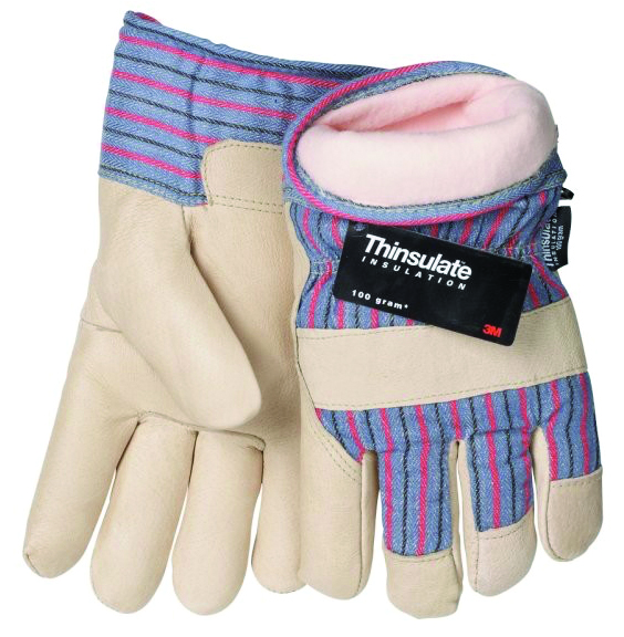 1565 - 1565 Pigskin Insulated Work Gloves-1565 Pigskin Insulated Work Gloves-Size L----UOM: 12/PK