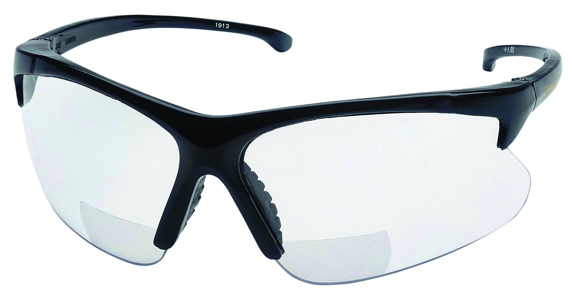 19876 - KleenGuard™ 30-06* Readers Safety Glasses-KleenGuard™ 30-06* Readers Eyewear, Clear +1.0 Diopter Lens, Black Frames-----UOM: 1/EA