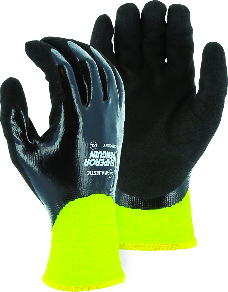 3398DNY/M - Emperor Penguin™ Winter-Lined Nylon Gloves-Emperor Penguin™ Winter-Lined Nylon Gloves-Size M----UOM: 12/PK