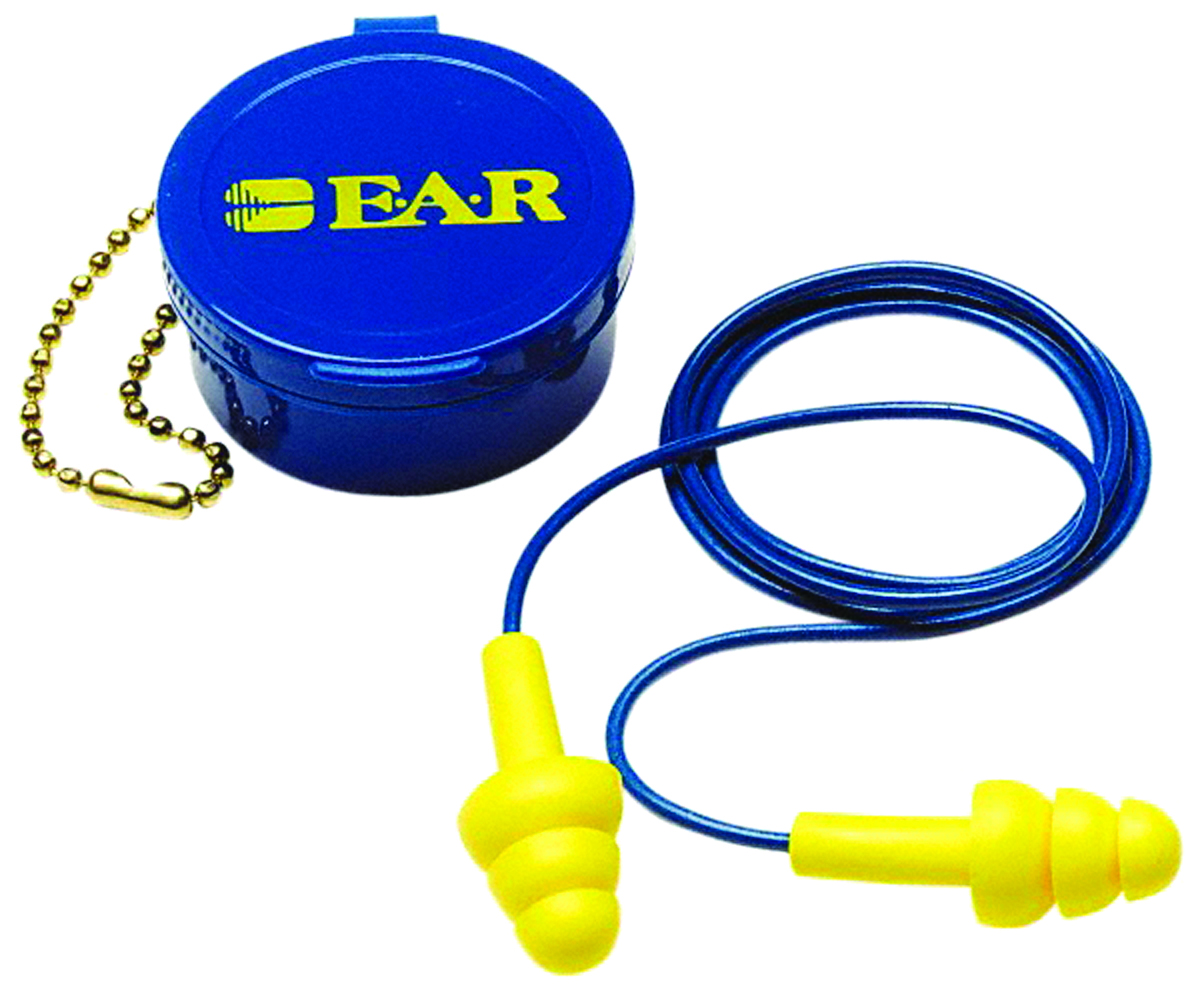 340-4002 - 3M™ E-A-R™ UltraFit™ Earplugs-(NRR)* 25 dB, Corded with Carrying Case-----UOM: 50PR/BX