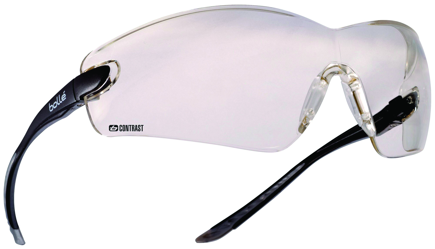 40041 - Cobra Safety Glasses-Black Temples - Contrast Anti-Fog/Anti-Scratch Lens Coating-----UOM: 1/EA