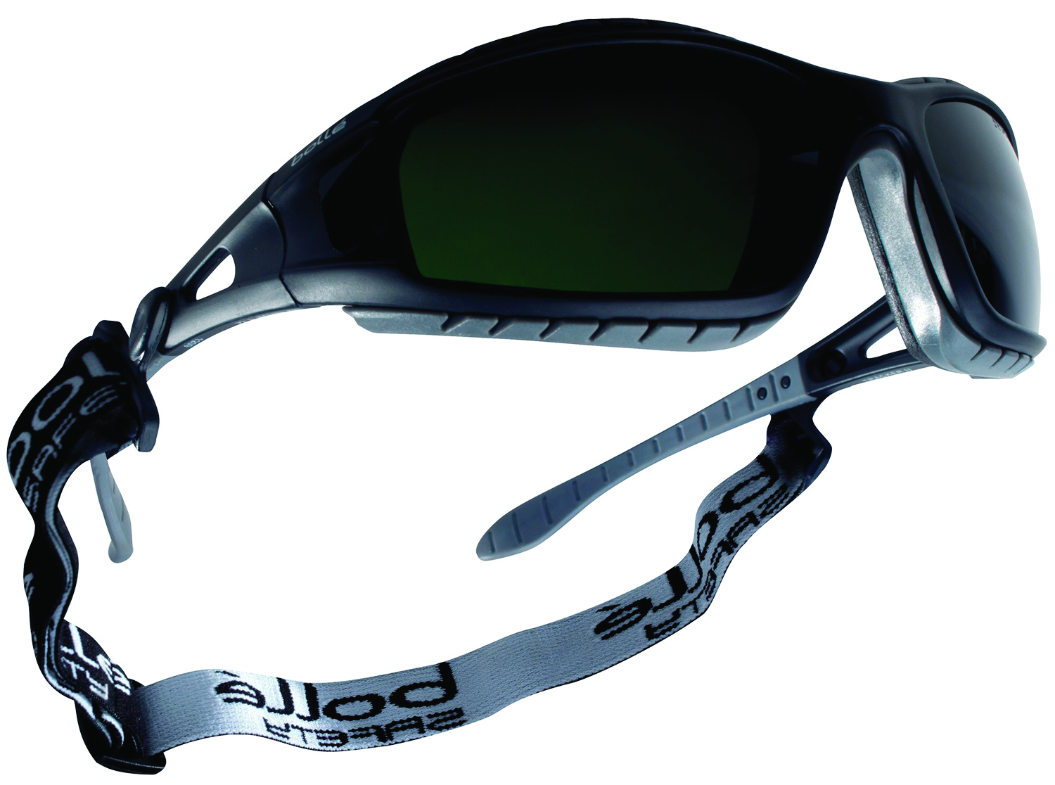 40089 - Tracker Safety Glasses/Goggles-Black/Gray Temples - Welding Shade 5 Polycarbonate Lens-----UOM: 1/EA