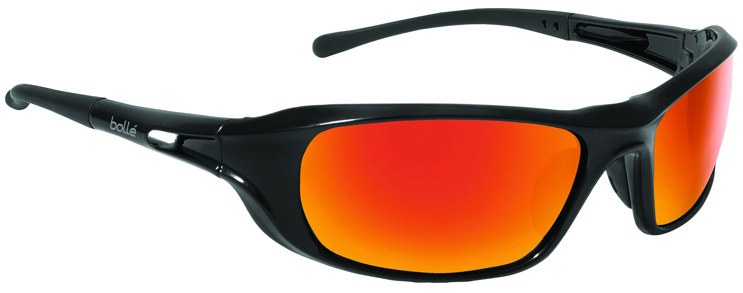 40061 - Shadow Safety Glasses-Shiny Black - Polarized Smoke Anti-Fog/Anti-Scratch Lens Coating-----UOM: 1/EA