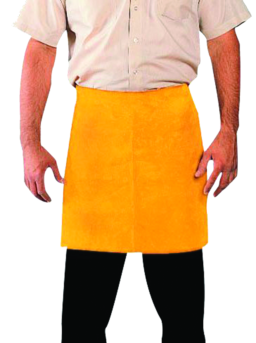 4118 - Cowhide Split Waist and Bib Aprons-Waist Apron 24