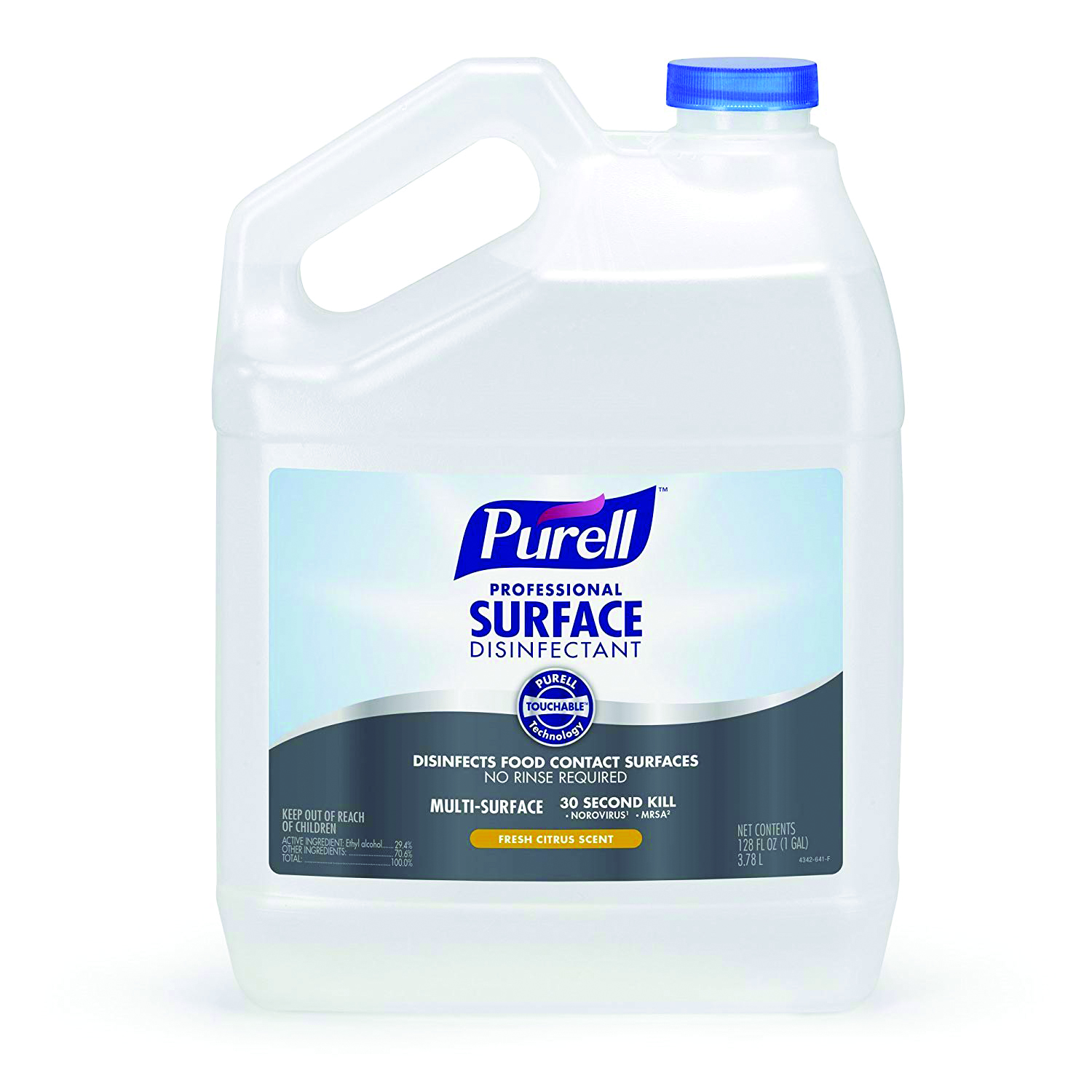 4342-04 - PURELL® Professional Surface Disinfectant-1 Gallon RTU refills-----UOM: 4/CS