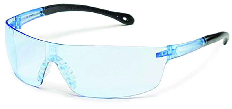 440M - StarLite® SQUARED Safety Glasses-Clear Indoor/Outdoor Mirror Lens, Clear Temple-----UOM: 1/EA