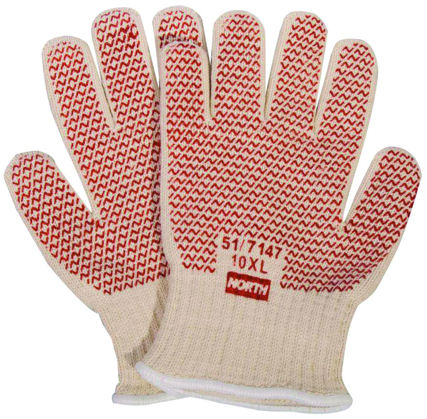 51/7147 - North Grip N® Hot Mill Gloves-Heat Resistant Gloves-North Grip N® Hot Mill Gloves-One Size Fits Most---UOM: 12/PK
