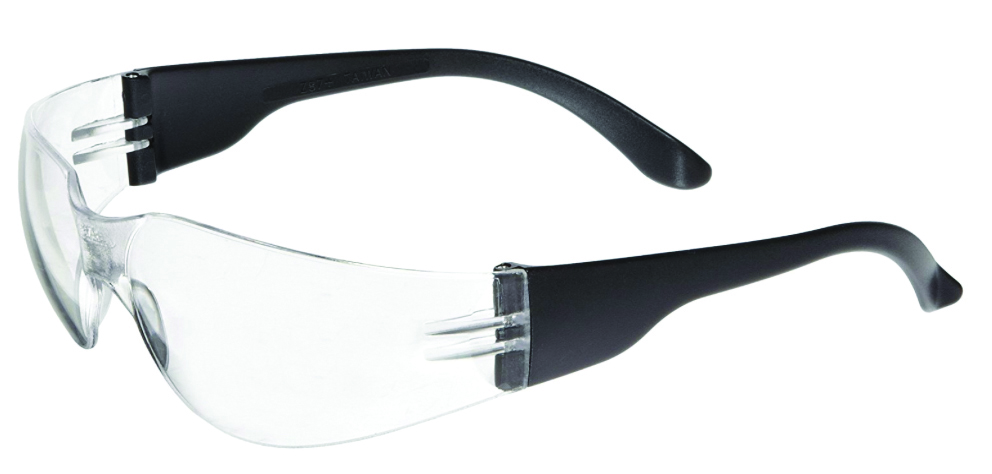 5344 - NSX™ Safety Glasses-Gold Mirror Lens, Black Temples-----UOM: 1/EA