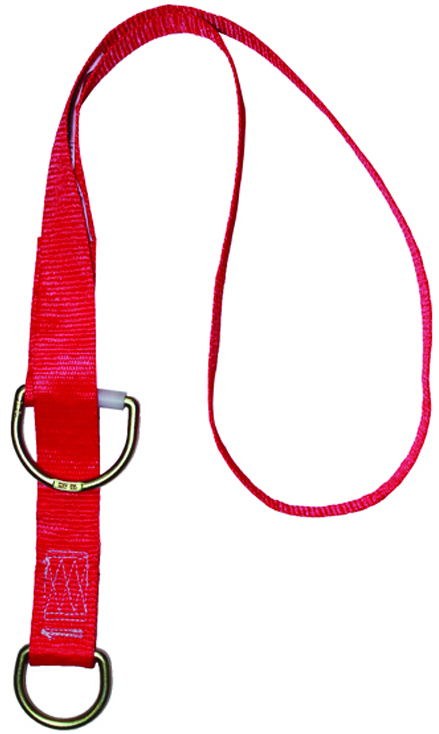 5900578 - 3M™ PROTECTA® PRO™ Tie-Off Adapter-Pass-thru type tie-off adapter-Red, 6 Ft. Long----UOM: 1/EA