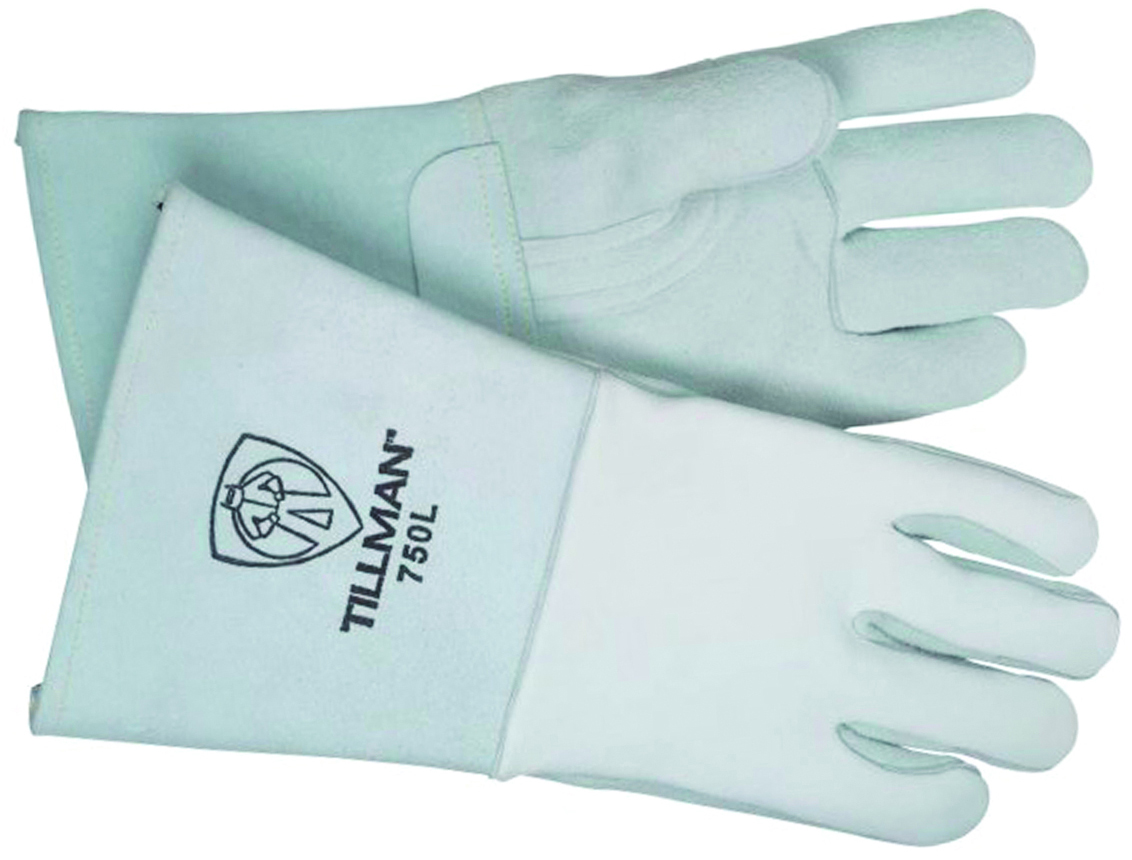 750L - Premium Elkskin Stick Welders Gloves-Large-Premium Elkskin-Stick Welders Gloves---UOM: 1/PR