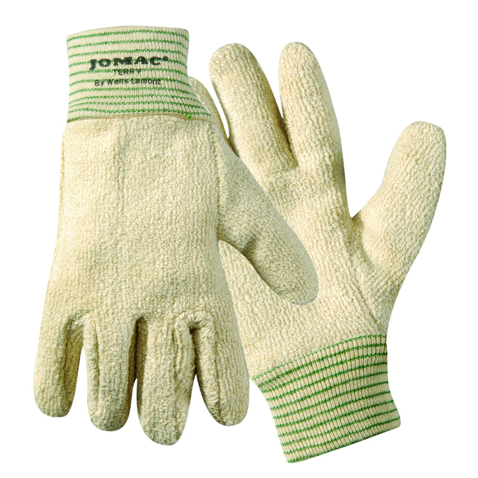 765 - Jomac® Cut & Sewn Heavy Weight Terry Cloth Gloves-Heat Resistant Gloves-Jomac® Heavy Weight Cut & Sewn Gloves, Protects up to 325°F-Medium---UOM: 12/PK