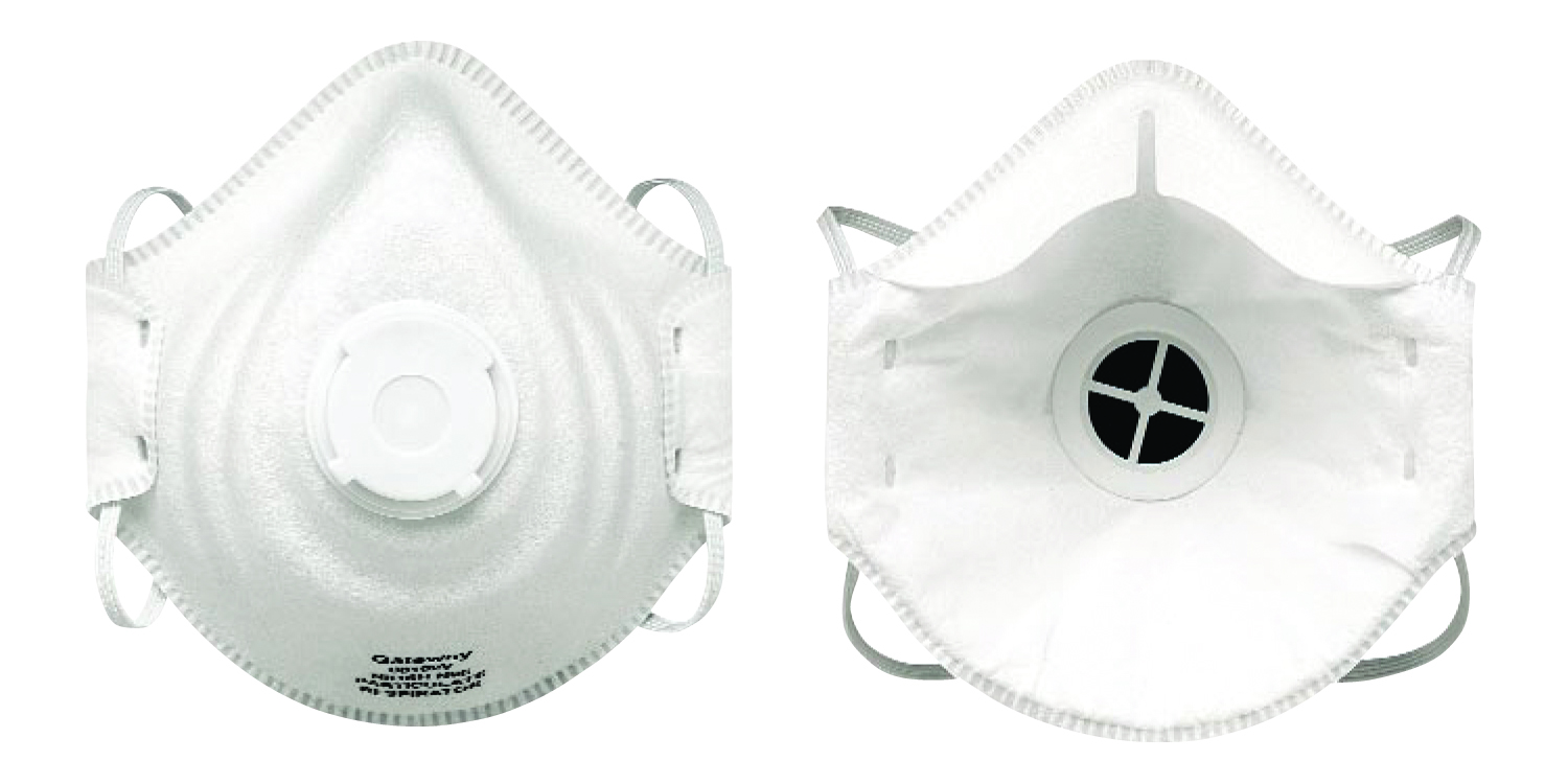80102V - PeakFit® Particulate Respirators-PeakFit® Particulate Respirators-Vented Particulate Respirator----UOM: 10/BX