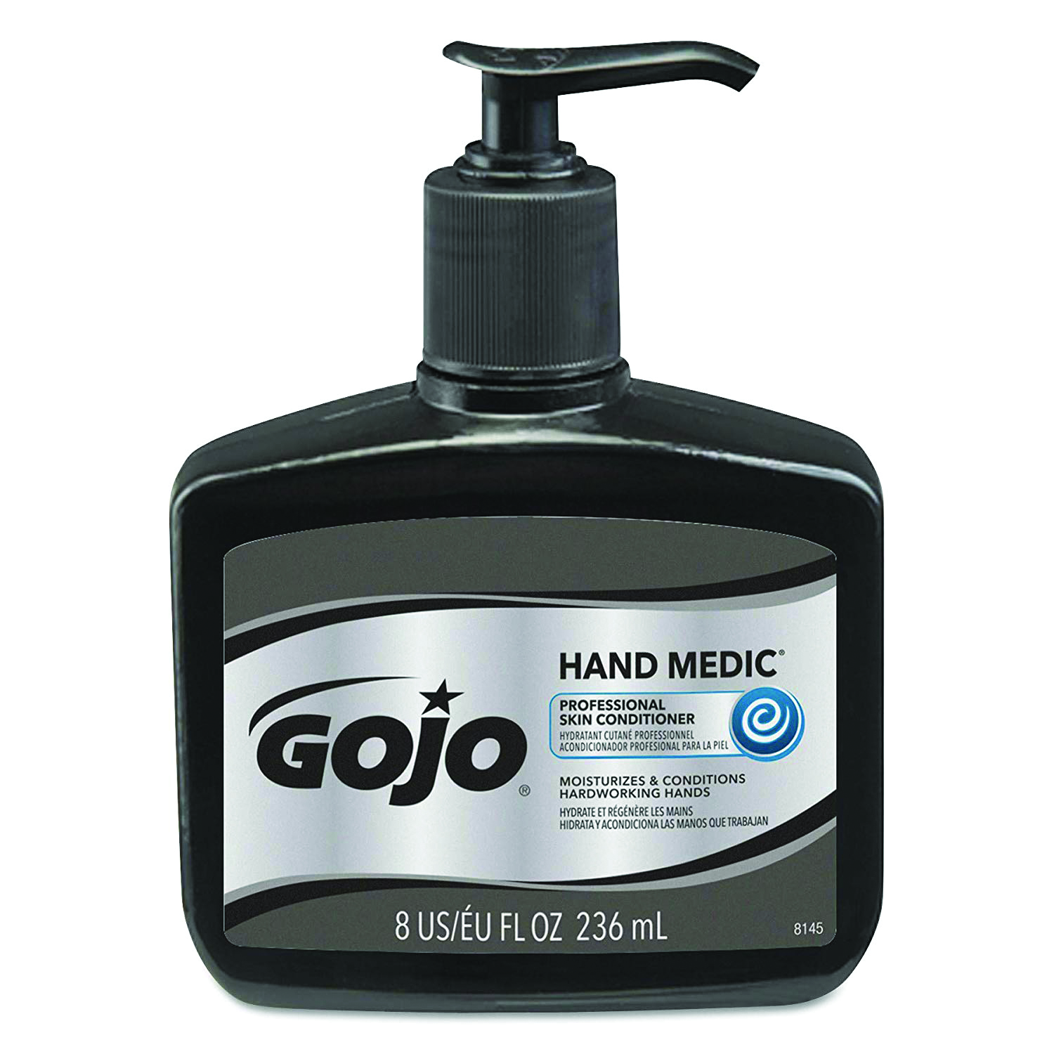 8145-06 - GOJO® HAND MEDIC® Professional  Skin Conditioner-8 fl oz Bottle w/ Pump Disp-----UOM: 6/CS