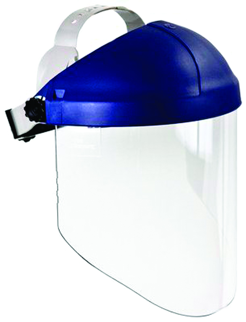 82783-00000 - 3M™ Ratchet Headgear-H8A Safety System Comes with Headgear and Faceshield Together, Clear Polycarbonate-----UOM: 1/EA