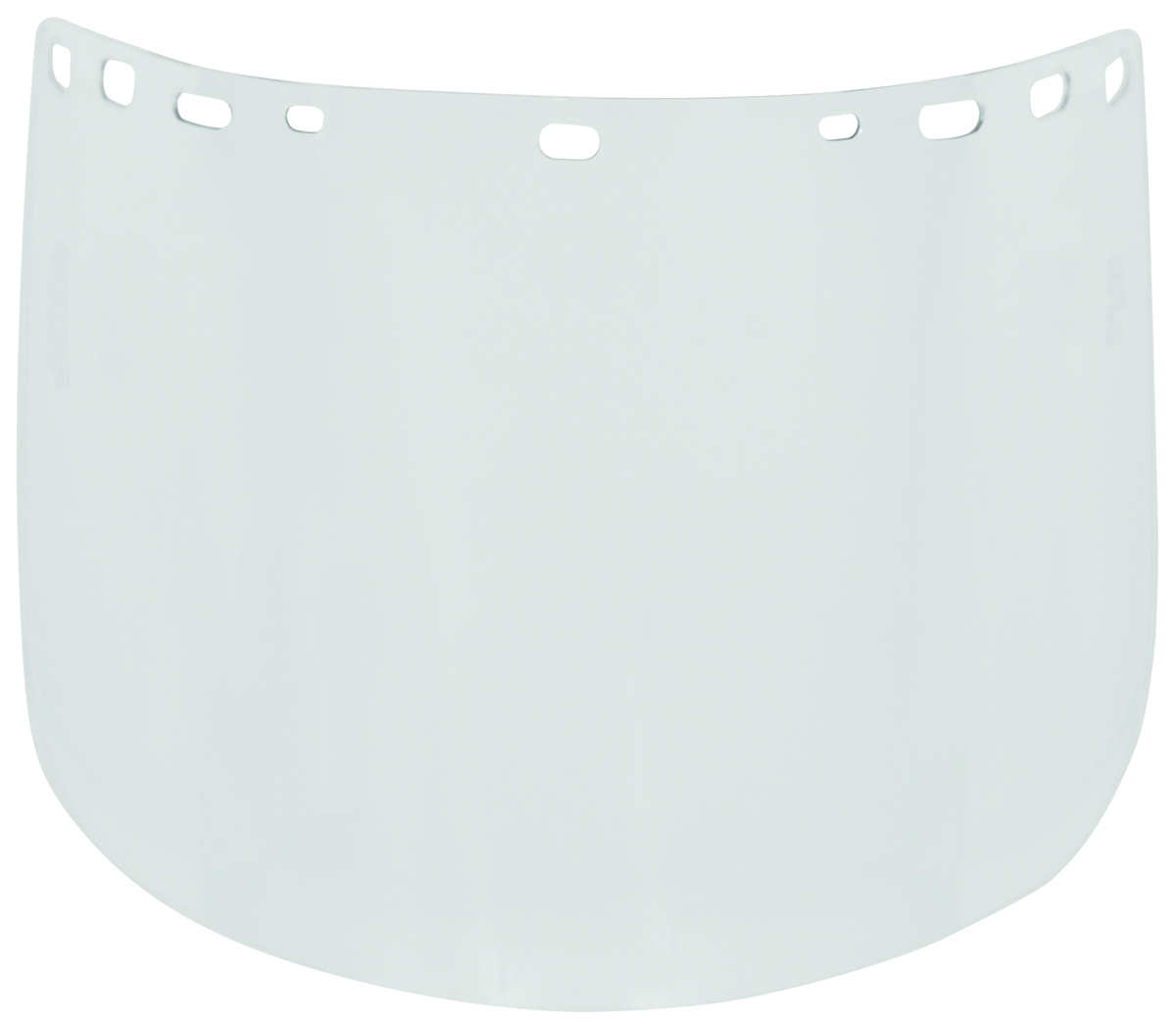 840MH - Visors-Multi-Fit Acetate Visor, Heat-Formed-Clear-8