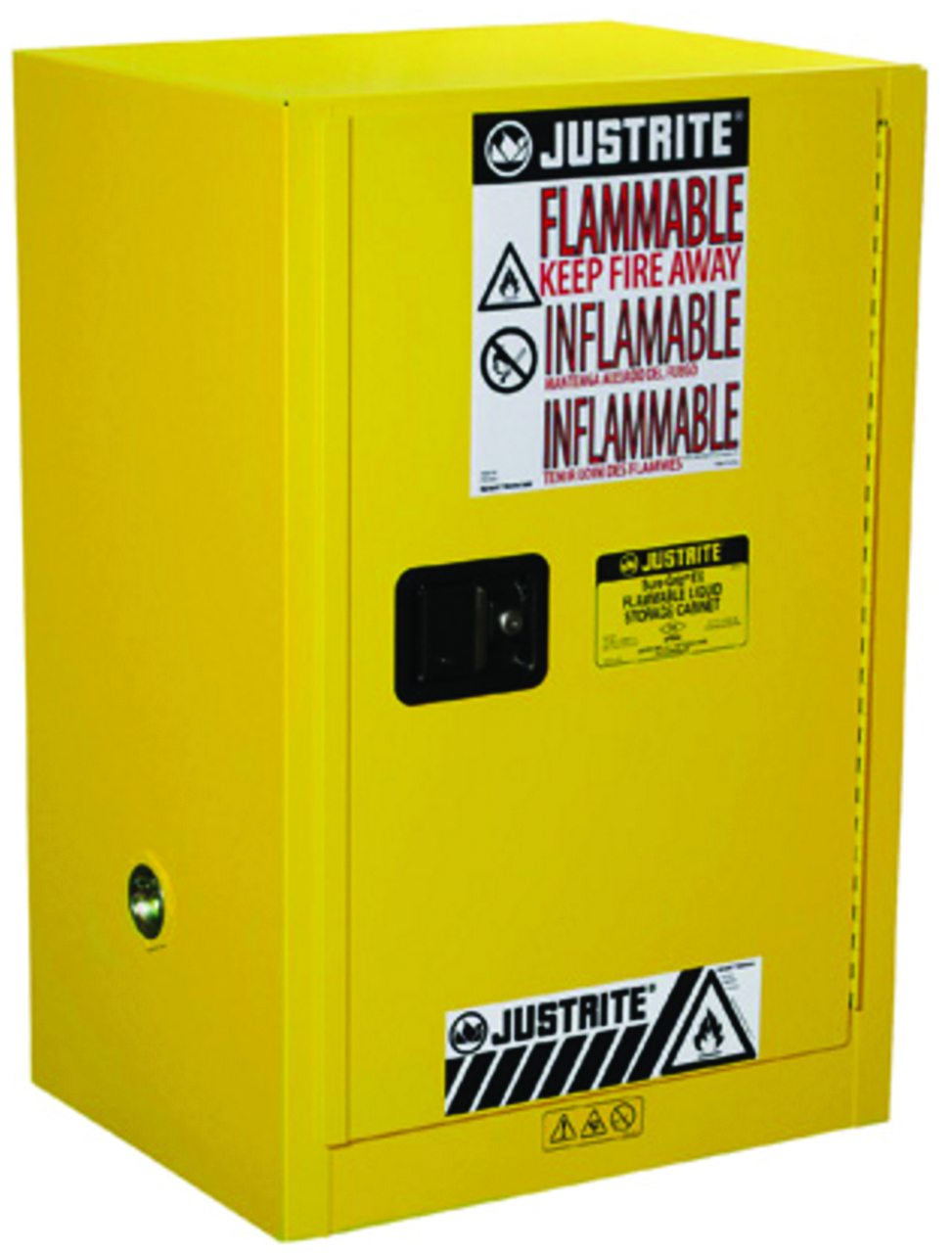 891200 - Sure-Grip® EX Countertop and Compac Safety Cabinets for Flammables-12 Gal, Manual Closing Door, 35