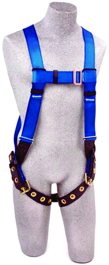 AB17550 - FIRST™ Vest Style Harnesses-FIRST™ Vest Style Harnesses-Blue and Black, Size XLarge----UOM: 1/EA
