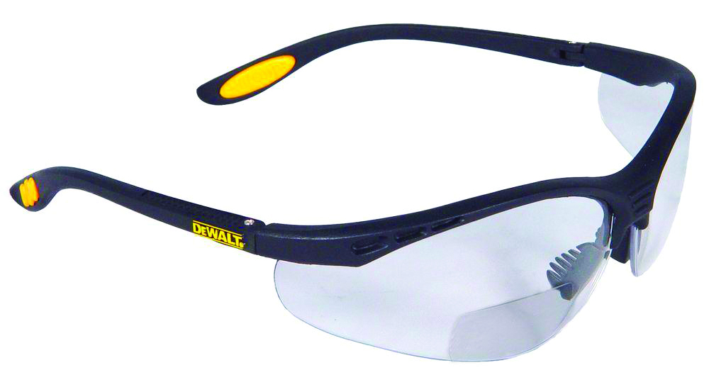 DPG59-125 - DeWALT® DPG59 Reinforcer Rx™ Safety Glasses-Clear Lens, Rx-Bifocal +2.5-----UOM: 1/EA