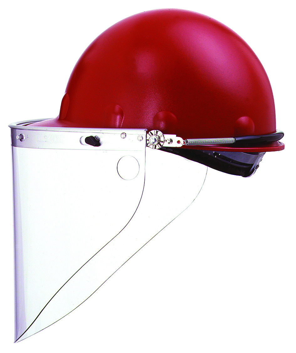FM70 - Faceshield Hard Hat Brackets-Fully dielectric mounting bracket for Fibre-Metal P2, E2 hard hats-----UOM: 1/EA