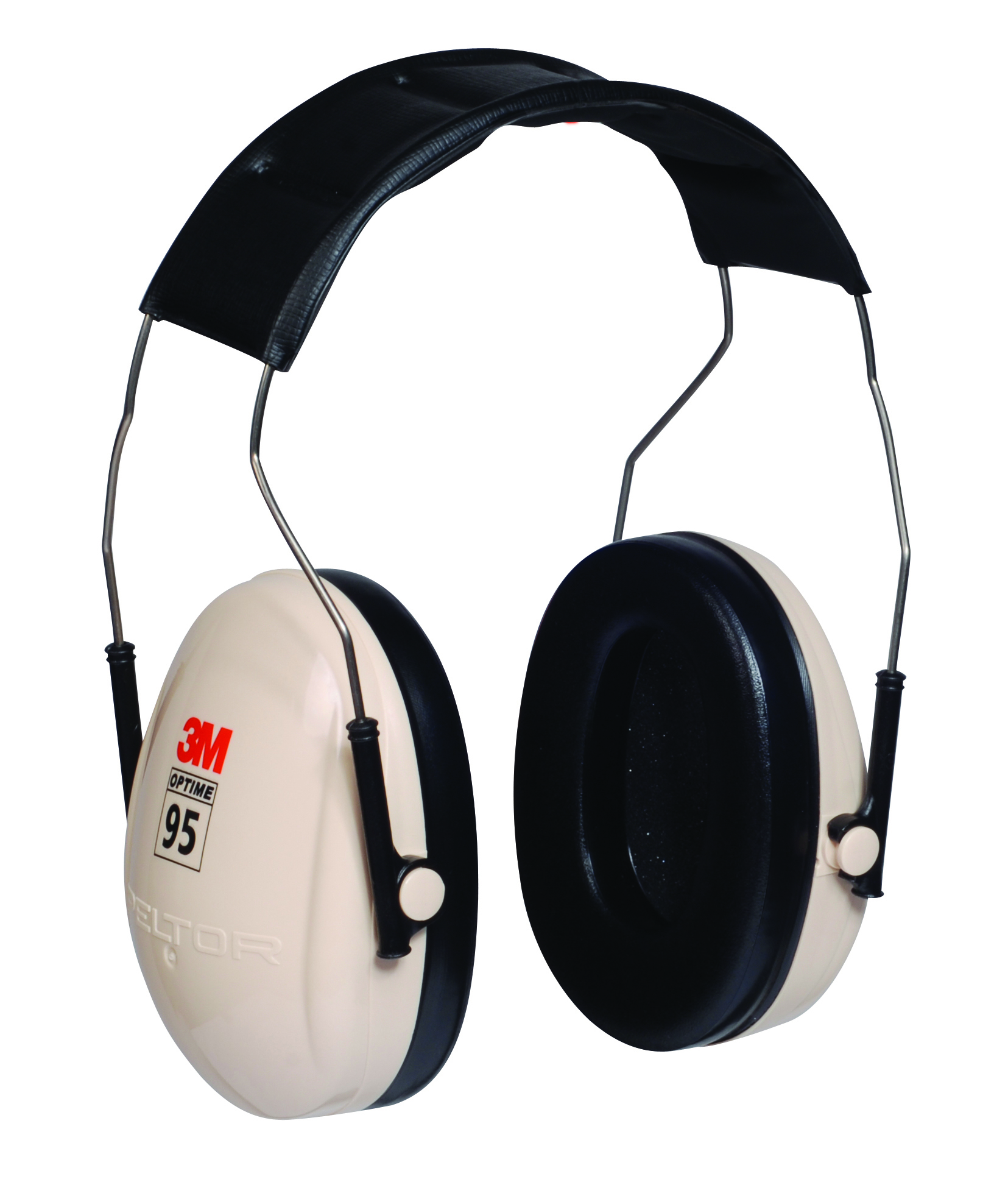 H6F/V - 3M™ Peltor™ Optime™ 95 Series Earmuffs-(NRR)* 21 dB, Over-the-HEAd w/ Folding Cups-----UOM: 1/EA