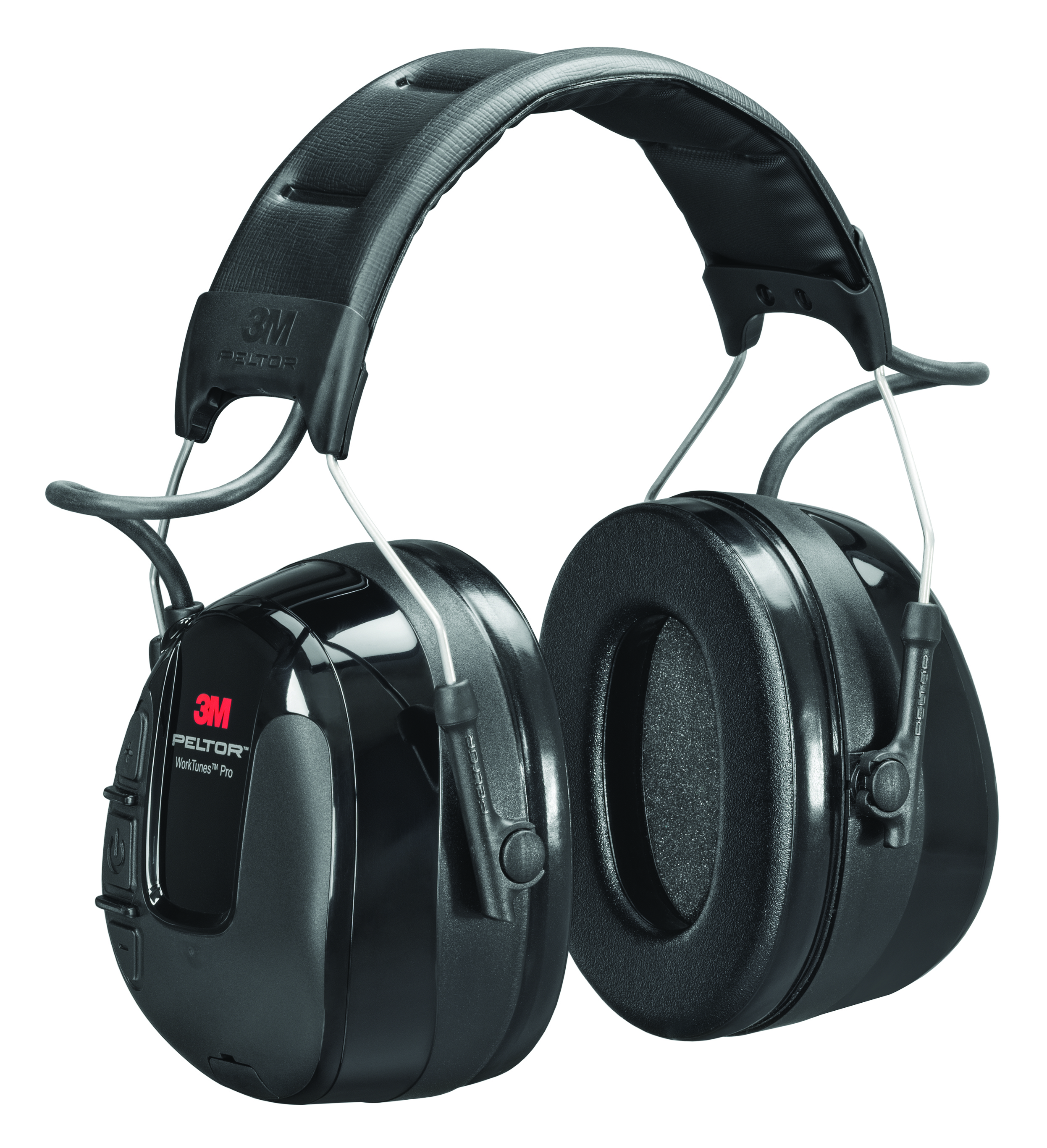 HRXS221P3E-NA - 3M™ Peltor™ WorkTunes™ Pro AM/FM Headset-(NRR)* 23 dB, Cap/Hard Hat Mounted-----UOM: 1/EA