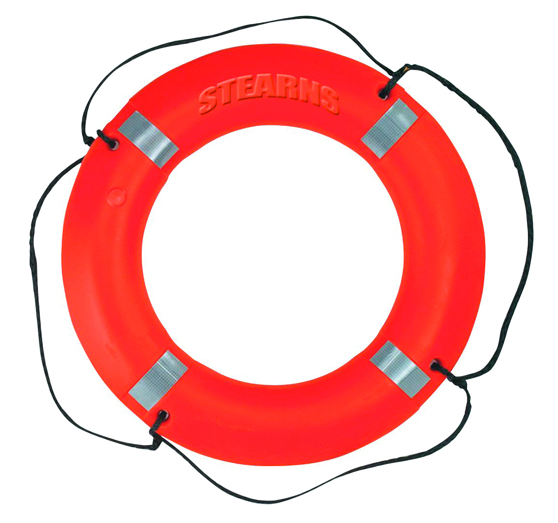 I030ORG-00-REF - Ring Buoy and Buoy Bag-30 in. Ring Buoy-----UOM: 1/EA