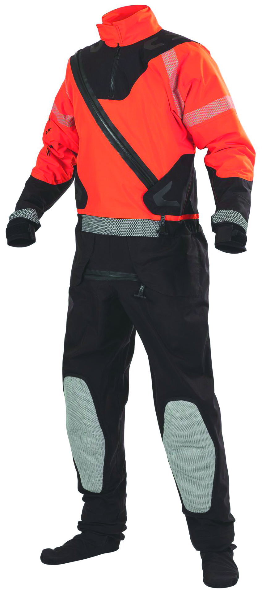 2000023957 - Rapid Rescue Extreme Surface Dry Suits-Rapid Rescue Extreme Surface Dry Suits-Red/Black, Size Medium----UOM: 1/EA