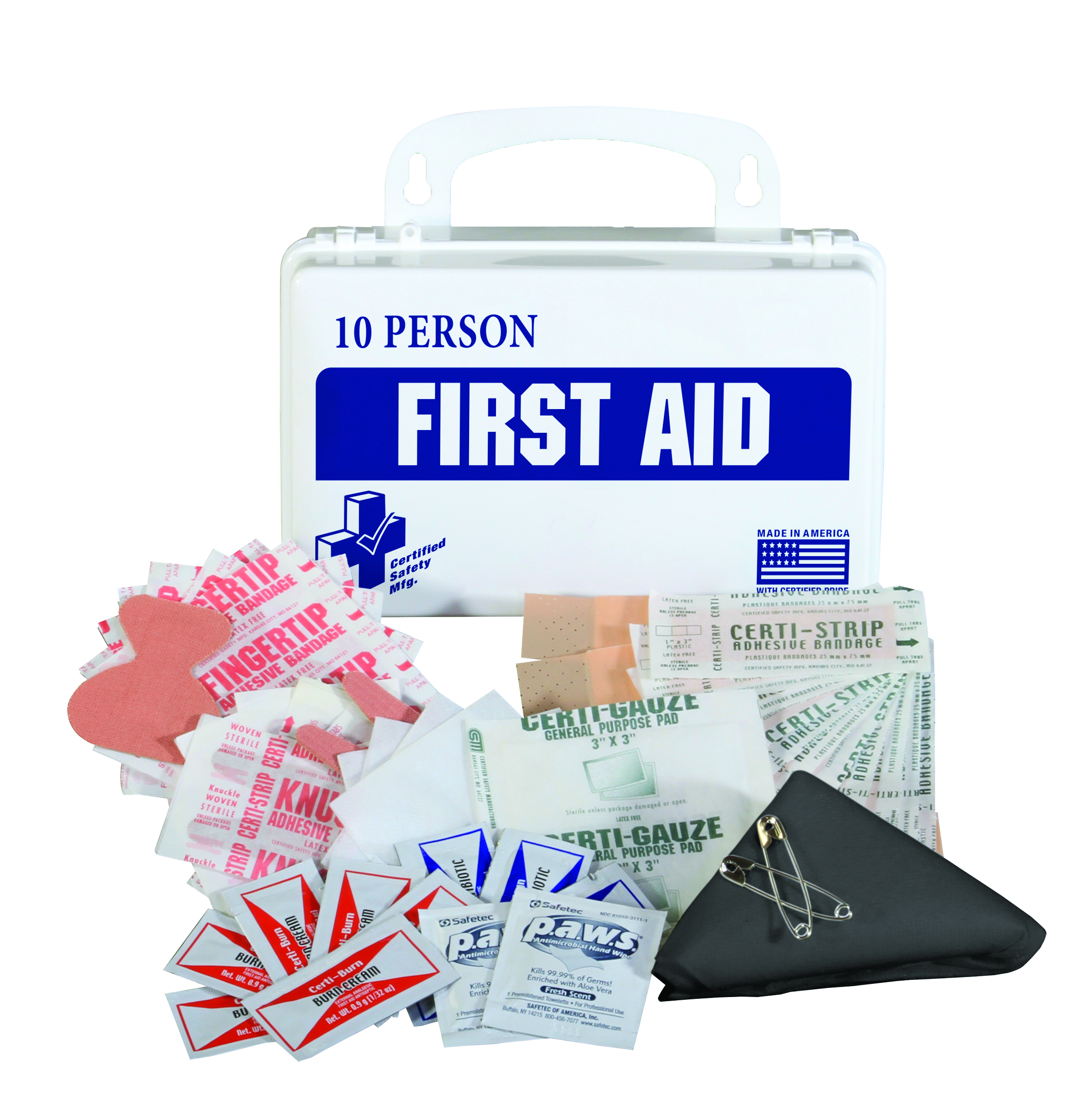 K610-029                       - Classic First Aid Kit - 25 Person-Classic First Aid Kit-16PW - 25 Person First Aid Kit w/ Eyewash----UOM: 1/EA