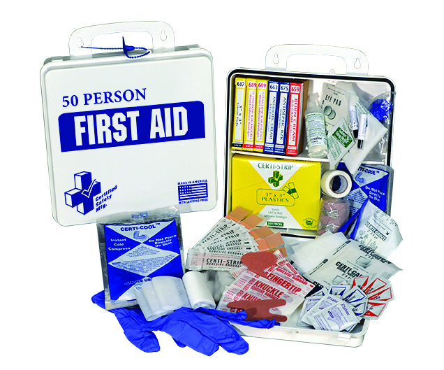 K610-033                       - Classic First Aid Kit - 50 Person-Classic First Aid Kit-24PW - 50 Person First Aid Kit----UOM: 1/EA