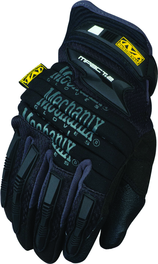 MP2-05-009 - M-Pact® 2 Gloves-Trade and Utility Gloves-M-Pact® 2 Gloves, knuckle guard, Armortex® fingertips, (TPR) finger guards and metacarpal protection-Medium---UOM: 1/PR