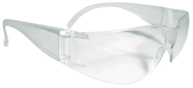MR0110ID - Mirage™ Safety Eyewear-Clear Lens, Clear Frame-----UOM: 1/EA
