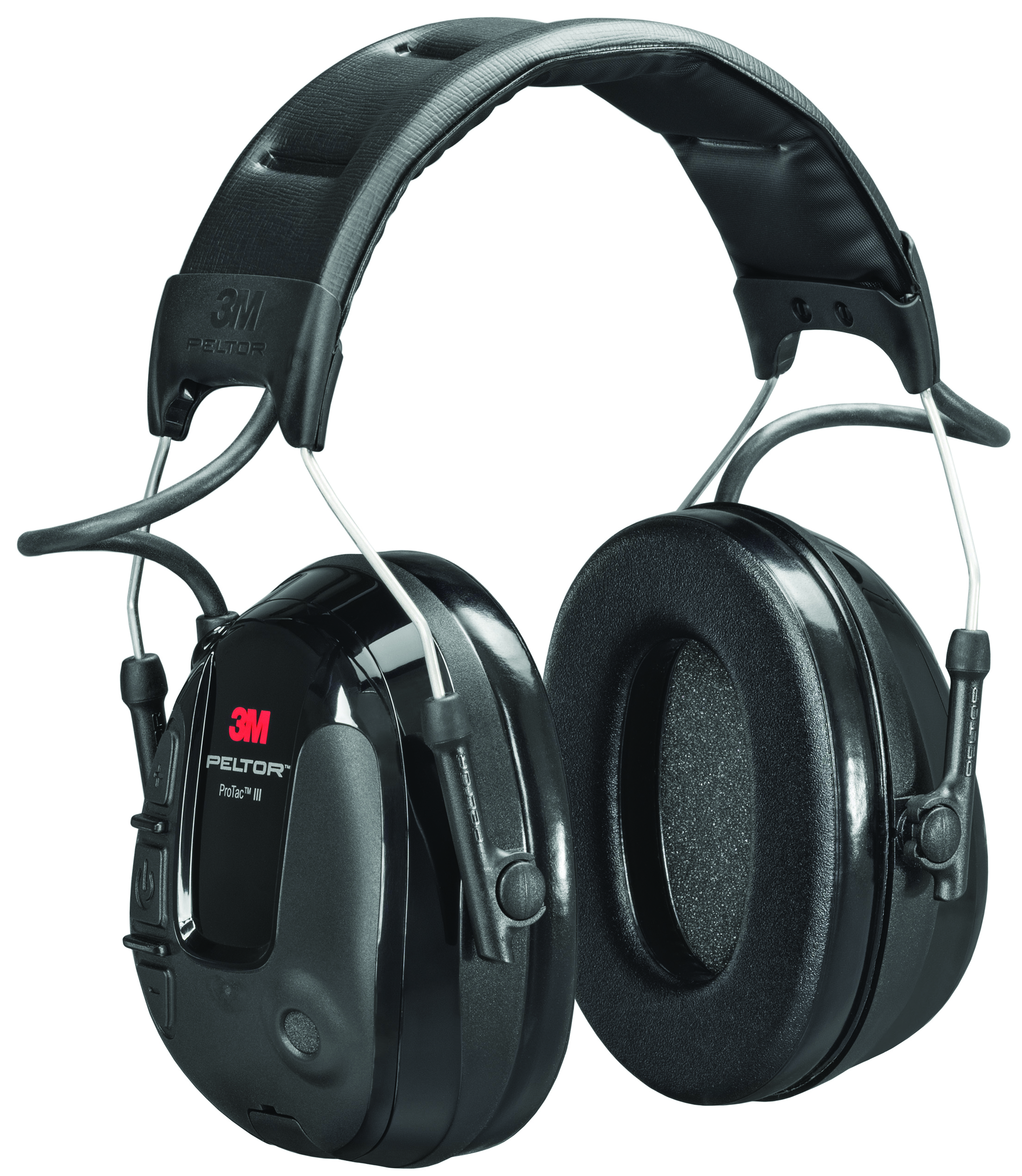 MT13H220P3E - 3M™ Peltor™ ProTac™ III Headset-(NRR)* 19 dB, Slim, Cap/Hard Hat Mounted-----UOM: 1/EA